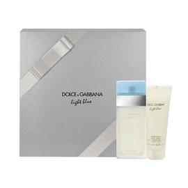Rinkinys Dolce & Gabbana Light Blue: tualetinis vanduo EDT 50ml + kūno kremas 100ml, moterims