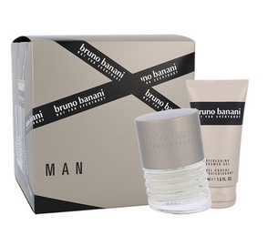 Rinkinys Bruno Banani Man: tualetinis vanduo EDT 30 ml + dušo žėlė 50 ml, vyrams