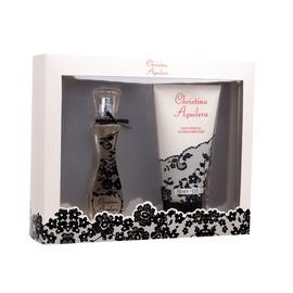 Rinkinys Christina Aguilera Christina Aguilera: parfumuotas vanduo EDP 30 ml + dušo žėlė 150 ml, moterims