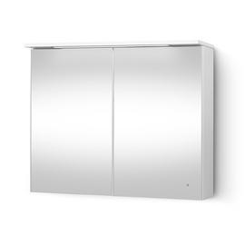 Seinakinnitusega vannitoakapp Riva SV90-2, valge