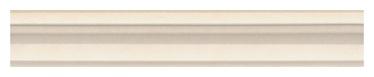 Keraamiline bordüür Capodimonte, 5x30 cm, beež