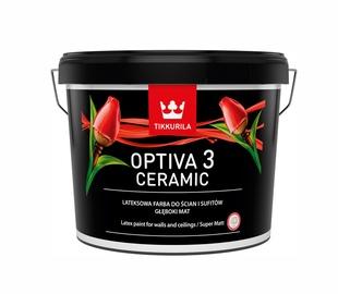 """Vandeniniai akriliniai dažai """"Tikkurila"""" Optiva ceramic 3 BA 9 l"""