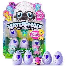 Žaislinis gyvūnėlis Hatchimals Colleggtibles, 4 kiaušiniai+gyūnėlis, 6034167