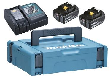 Lādēšanas komplekts Makita 18V 2x4,0AH + lādētājs