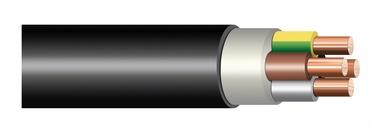 KABELIS (CYKY-L; 4X6 mm²) (LIETKABELIS)