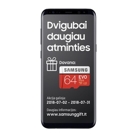 MOBILUS TELEFONAS SAMSUNG GALAXY S8+ 64GB JUODAS