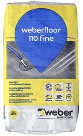 Põrandasegu weber.fine 110, 20kg