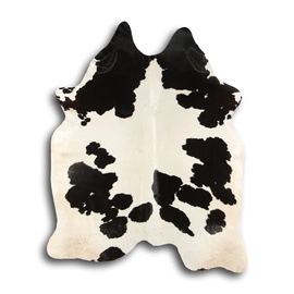 Veisenahk, 200x140 cm, must-valge