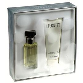 Rinkinys Calvin Klein Eternity: parfumuotas vanduo EDP 30ml + dušo želė 100ml, moterims