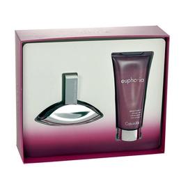 Rinkinys Calvin Klein Euphoria: parfumuotas vanduo EDP 30ml + dušo kremas 100ml, moterims