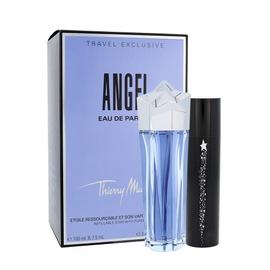 Rinkinys Thierry Mugler Angel: parfumuotas vanduo EDP 100 ml + EDP 7,5 ml, moterims