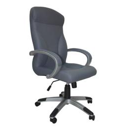 Biuro kėdė Riga Comfort, Eko oda, pilka