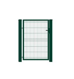 Segmentiniai varteliai Garden Center 960x1500 mm, 2 stulpai