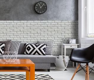Dekoratiivkivi Retro Brick White