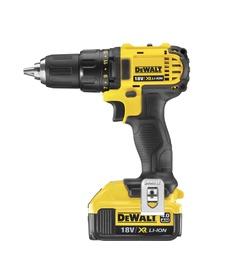 Akutrell DeWalt DCD780M2, 18 V, 2 x 4 Ah