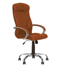 Biuro kėdė Riga Comforrt, eko oda, ruda