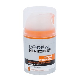 Drėkinamasis kremas L´Oreal Paris Men Expert Hydra Energetic, 50ml, vyrams