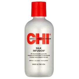 Regeneruojanti priemonė plaukams su natūraliu šilku CHI Silk Infusion, 59ml, moterims
