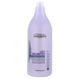 Glotnumo suteikiantis šampūnas L´Oreal Paris Expert Liss Unlimited, 1500ml, moterims