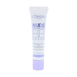 BB kremas 5in1 L´Oreal Paris Nude Magique, Light, 30ml, moterims