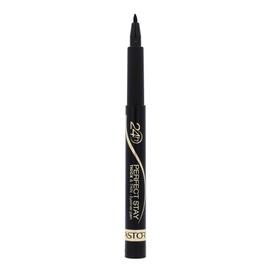 Gelinis akių kontūro pieštukas Astor 24h Perfect Stay Thick&Thin, 090 Black, 3ml, moterims