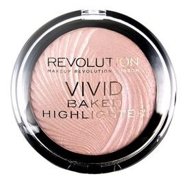 Švytėjimo suteikianti pudra Makeup Revolution Vivid Baked Peach Lights, 7,5g, moterims