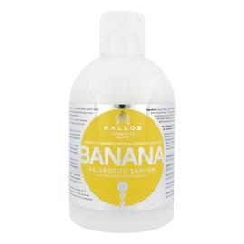 Plaukus stiprinantis šampūnas Kallos Banana Fortifying, 1000ml, moterims