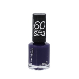 Nagų lakas Rimmel 60 Seconds Super Shine, 613 Midnight Rendezvous, 8ml, moterims