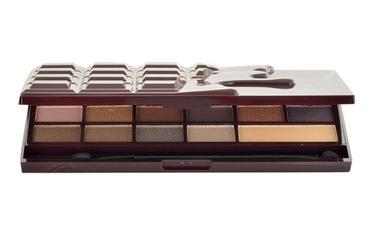 Akių šešėlių paletė Makeup Revolution London I Love Makeup Death By Chocolate, 22g, moterims