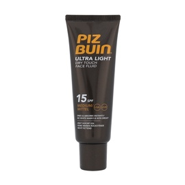Apsauginis veido losjonas nuo saulės Piz Buin Ultra Light Dry Touch SPF15, 50ml, moterims