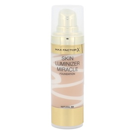 Makiažo pagrindas Max Factor Skin Luminizer, 50 Natural, 30ml, moterims