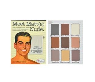 Akių šešėlių paletė TheBalm Meet Matt(e) Nude, 25,5g, moterims