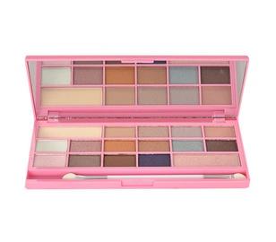 Akių šešėlių paletė Makeup Revolution London I Love Makeup I Heart Chocolate Pink Fizz, 22g, moterims