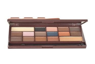 Akių šešėlių paletė Makeup Revolution London I Love Makeup I Heart Chocolate Caramel, 22g, moterims