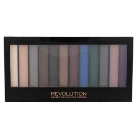 Akių šešėlių paletė Makeup Revolution London Redemption Hot Smoked, 14g, moterims