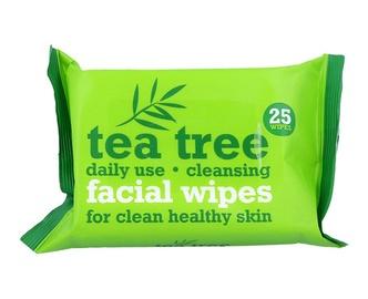 Servetėlės veidui Tea Tree Cleansing Facial Wipes 25 vnt, moterims