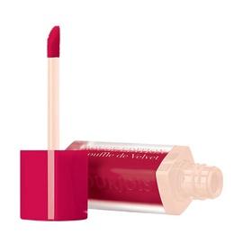 Skysti lūpų dažai Bourjois Paris Rouge Edition Souffle de Velvet, 07 Plum Plum Pidou, 7,7ml, moterims