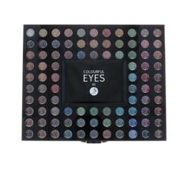 Akių šešėlių paletė 2K Colourful Eyes, 78,4g, moterims