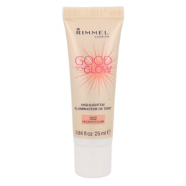 Spindesį suteikianti priemonė Rimmel London Good To Glow, 002 Piccadilly Glow, 25ml, moterims