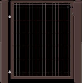 Segmentiniai varteliai 960 x 1200 mm, 2 stulpai