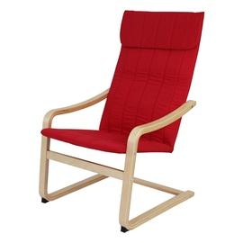 Raudonas fotelis iKayaa 59x71x99 cm