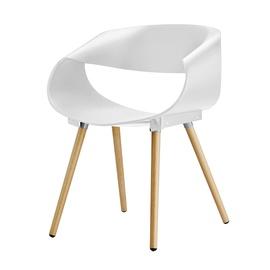 Moderni kėdė, balta