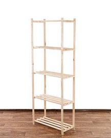 Sandėliavimo lentyna Basic-5, 170 x 65 x 28,5 cm, 5 lentynos