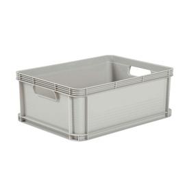 Dėžė be dangčio, pilka, Keeper, 40x60x22 cm