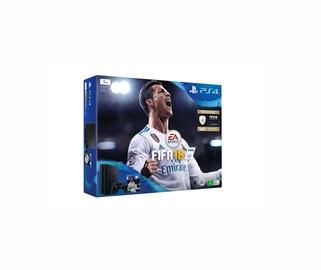 """ŽAIDIMŲ KOMPIUTERIS """"PLAYSTATION 4 SLIM 1TB+FIFA18"""" (SONY)"""