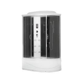 Masažinė dušo kabina Erlit 4512TPL-C4; 80 x120 cm; 4 dalių; kairinė