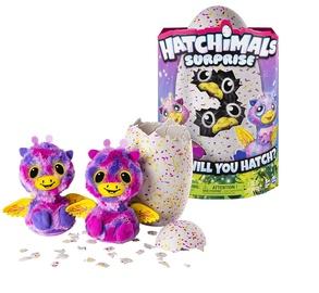 Interaktyvus žaislas Hatchimal Gyvūnėliai Dvyniai 6037096