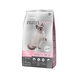 Sausasis ėdalas sterilizuotoms katėms Nutrilove Sterile, 1,4 kg