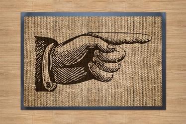 """Durų kilimėlis """"Welcome 210"""" (Likutinis); 40 x 60 cm"""