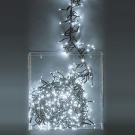Kalėdinė girlianda, LED lemputės 710  vnt, balta, 2,1 m ilgio